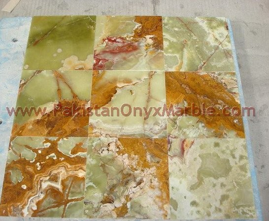 FINE QUALITY GREEN ONYX TILES COLLECTION