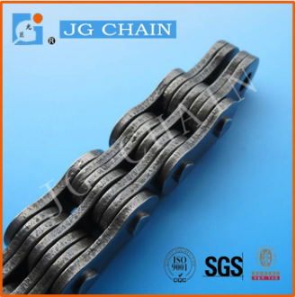 CL10 40mn alloy steel power transmission silent highly compact tooth chain