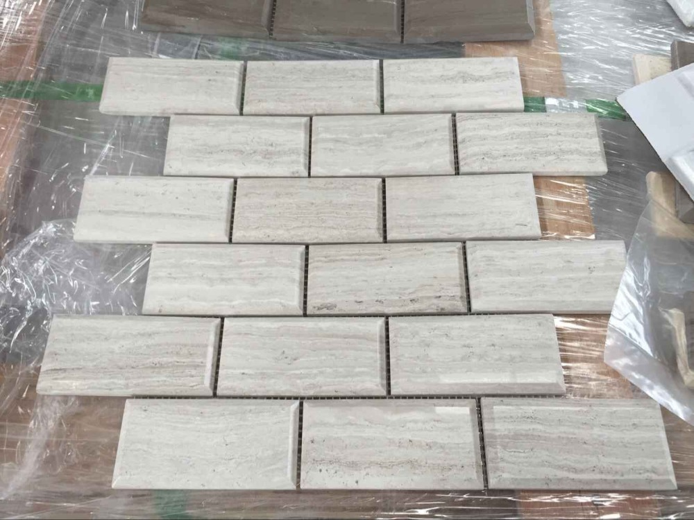 Hot Sale White Onyx 3x6 Inch Polished Brick Pattern Stone Subway ...