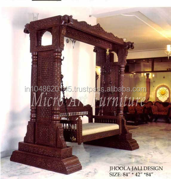Indian Decorative Wooden Swing