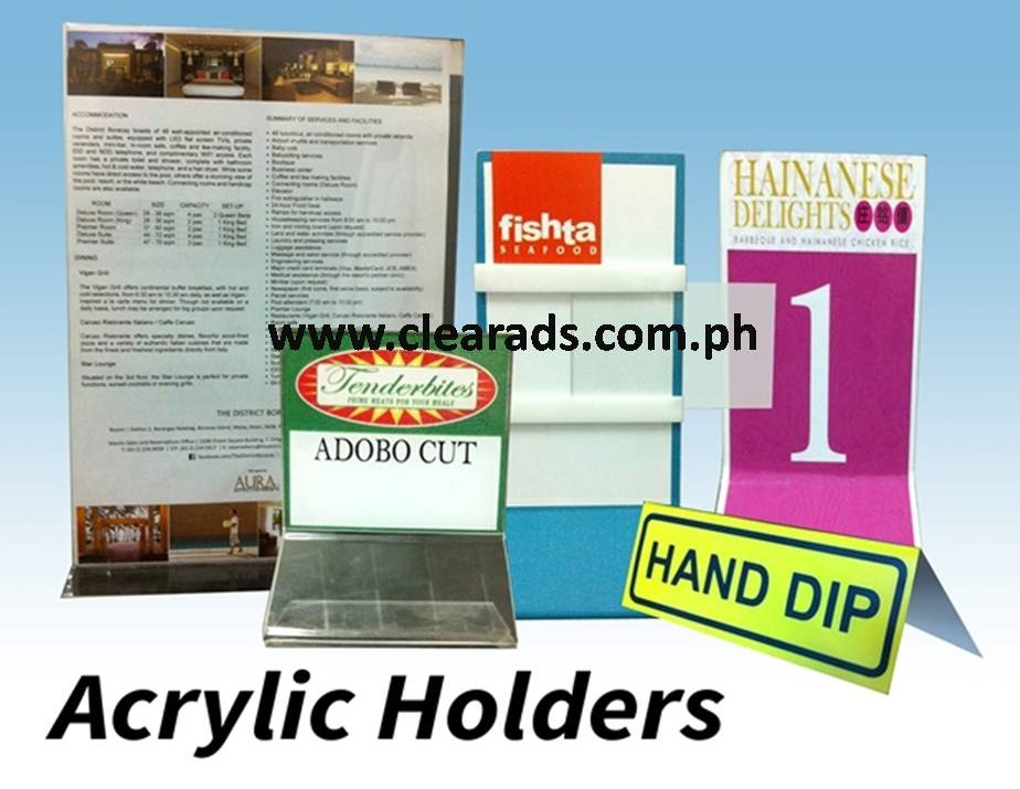 Sticker printing for business advertisement in metro manila philippines by clear ads