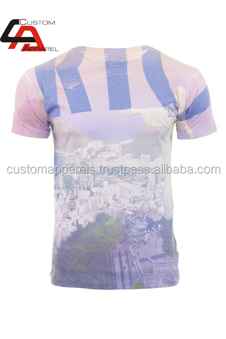 Latest 3d Plain Cotton T Shirts & Tops For Girls/sublimation ...