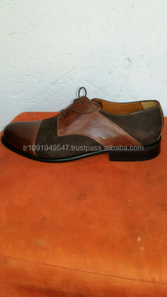 Handmade 100% Geniune Leather American European Style Oxfords Men Casual Shoes