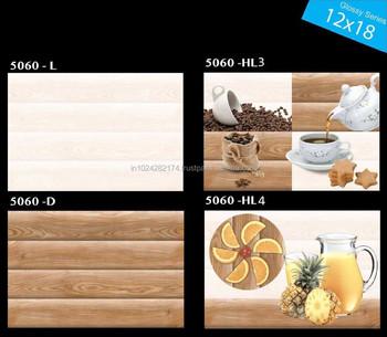 Matt Finish Ceramic Digital Wall Tiles 300x450 Mm P5060b - Buy ...
