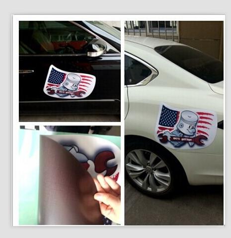 Custom Oval Funny Novelty Vehicle Door Magnetic Bumper Stickers - Custom car magnets bumper
