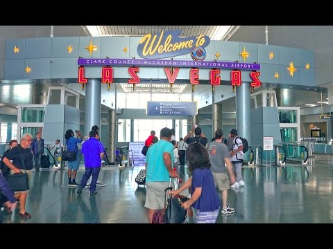 McCarran International Airport - Las Vegas 2016 4K