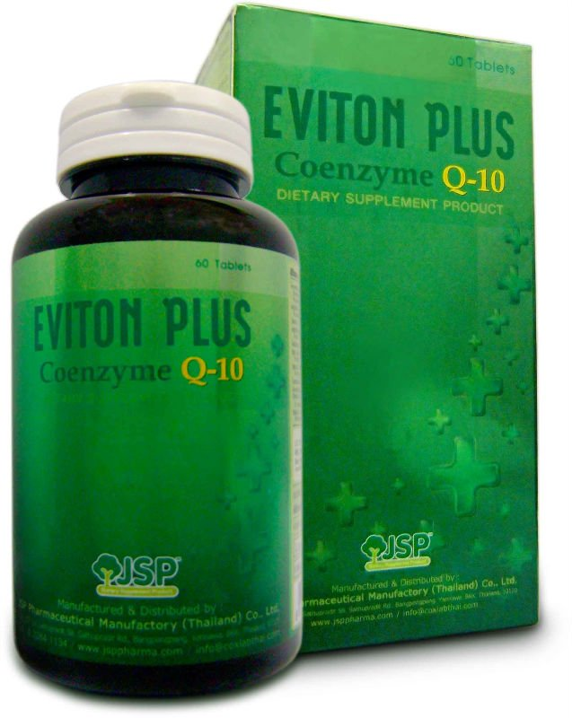 Eviton Plus Coenzyme Q10 - Buy Coenzyme,Q10,Supplement Product on ...