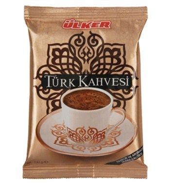 Ulker Turkish Ground Coffee 100gr - 3.5oz by DHL Express