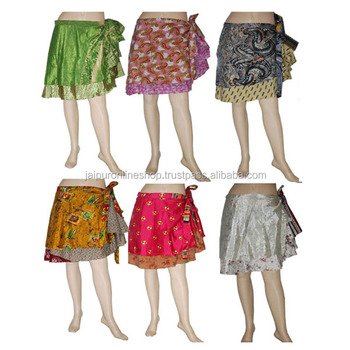 c976be2ab5634 Girls Silk Mini Short Wrap Skirt Beach Wholesale For Sale - Buy Beach ...