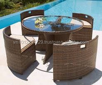 PE Poly Rattan Outdoor / Garden Furniture - 4 seater