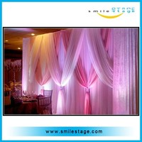 china cheap curtain stand trade show booth exhibit display aluminum material