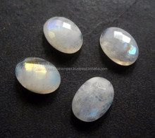 Mix forma Natural do arco-íris Moonstone Oval cab solto Gem Stone