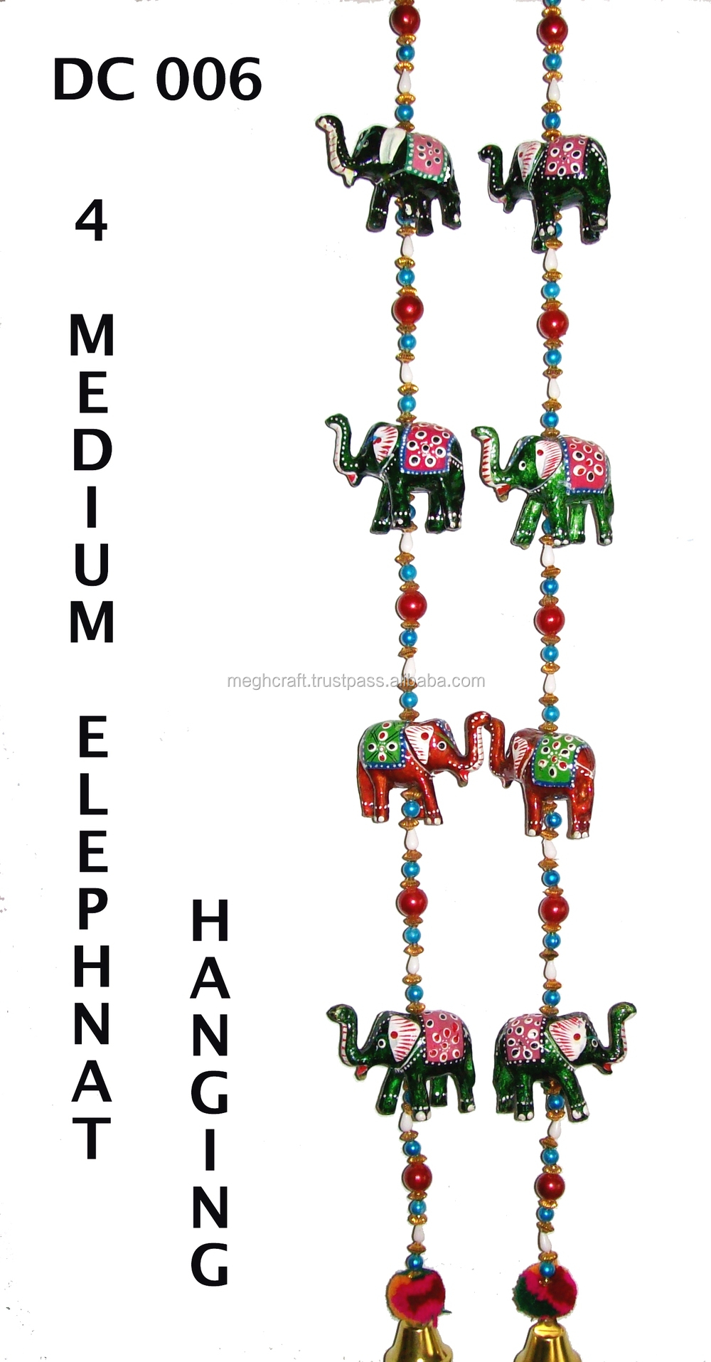 Gujarati Home Decor Wall Hangingelephant Theme Door Hanging