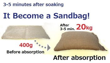 High Quality Water Absorption Sap Flood Bags Made In An