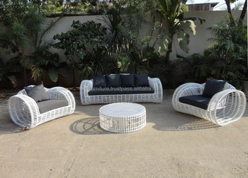 Artificial Poly Rattan Wicker Patio Furniture Factory Direct