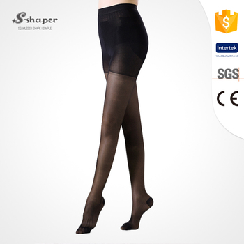 3326bd96c S-SHAPER Varicose Veins Stocking Medical Sexy Sheer Compression Pantyhose