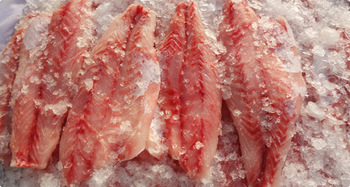 Chilled skinless Nile Perch fillets