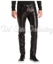 High Quality Gents Soft Sheep Leather Fashion Pants