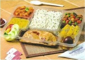 Customized Sizes Thali 8 Compartment(dt 104) - Buy Plastic Plate 9 ...