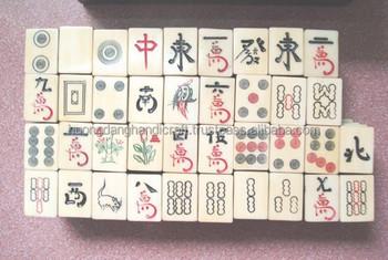 Wooden Mahjong,Handicraft Character,Special Design,Handmade By Vietnamese -  Buy Handmade Wooden Mahjong Game,Special Wooden Mahjong For