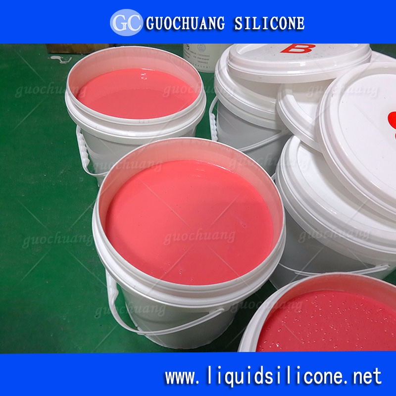 RoHs and FDA food grade 2 part rtv silicone rubber for candy fondant molds
