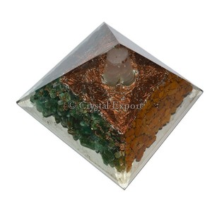 Orgone Energy Pyramids With Spiral Point : Wholesale price Orgone Pyramids