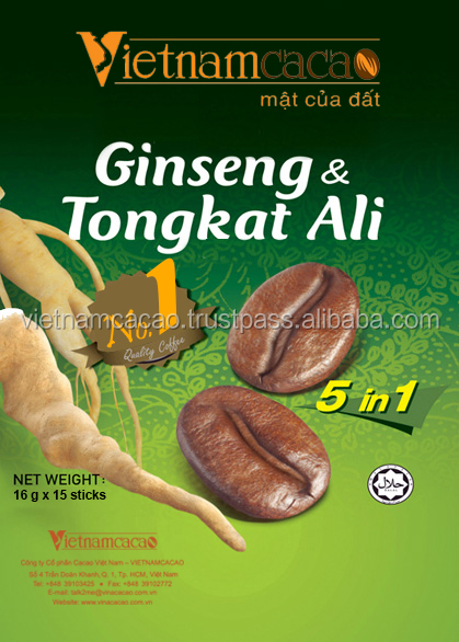 Tongkat Ali Ginseng Coffee / Instant Coffee 5 in 1 - Viber/Whatsapp: 0084905209103