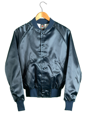 Custom Men Wear Satin Varsity Jacket / Satin Jacket Wholesale ...