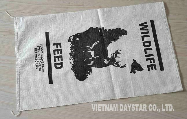 PP woven bags, PP woven sacks, made in Vietnam