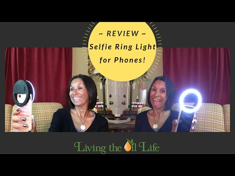LED Selfie Ring Light / Mini Diva Ring Product Review