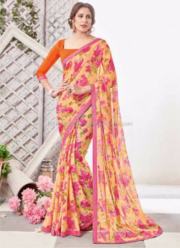 29b77d5c4 New saree blouse design 2016 - Saree indian boutique - Printed sarees  online shopping - Daily