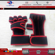 Workout Gloves Crossfit Neoprene Long Wrist Wrap Pull Up Cross Training Gloves