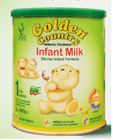 GOLDEN COUNTRY INFANT MILK STAGE 1 6X400G