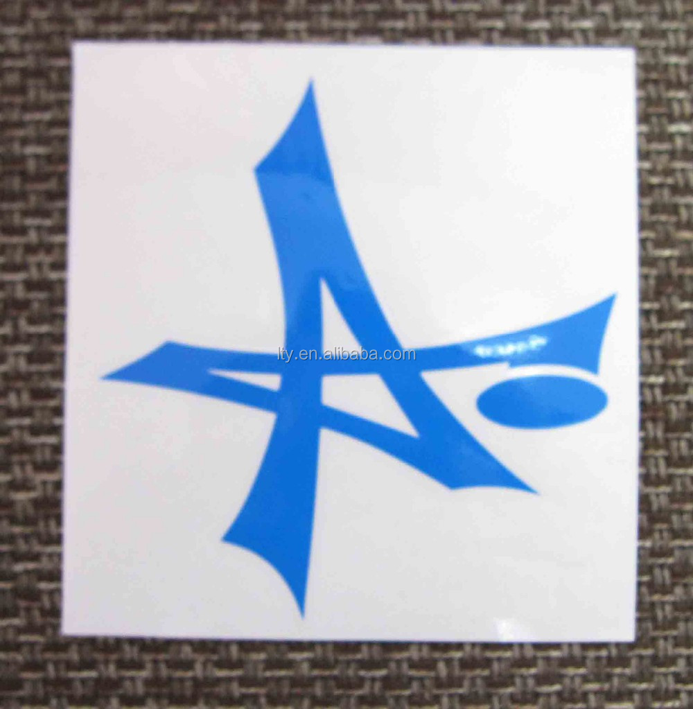 Hot Sale Custom color removable transfer car sticker decal (SS-670)