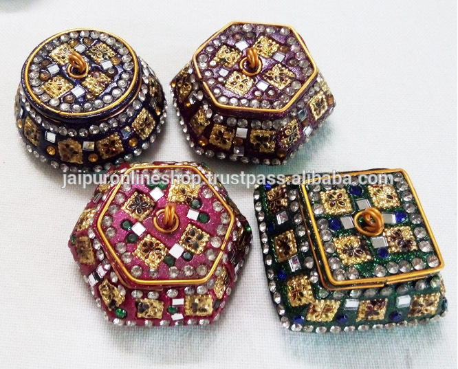 indian small decorative boxes - Decorative Boxes