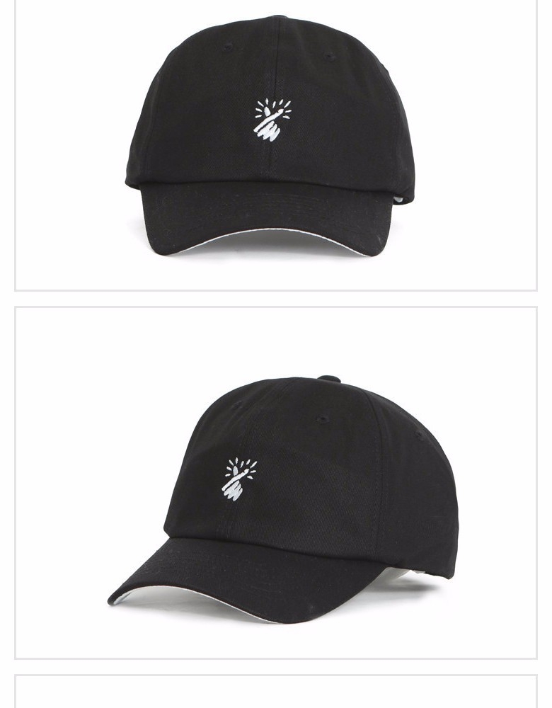 trendy baseball cap small heart lovely gesture design caps 2016 fashion 2015