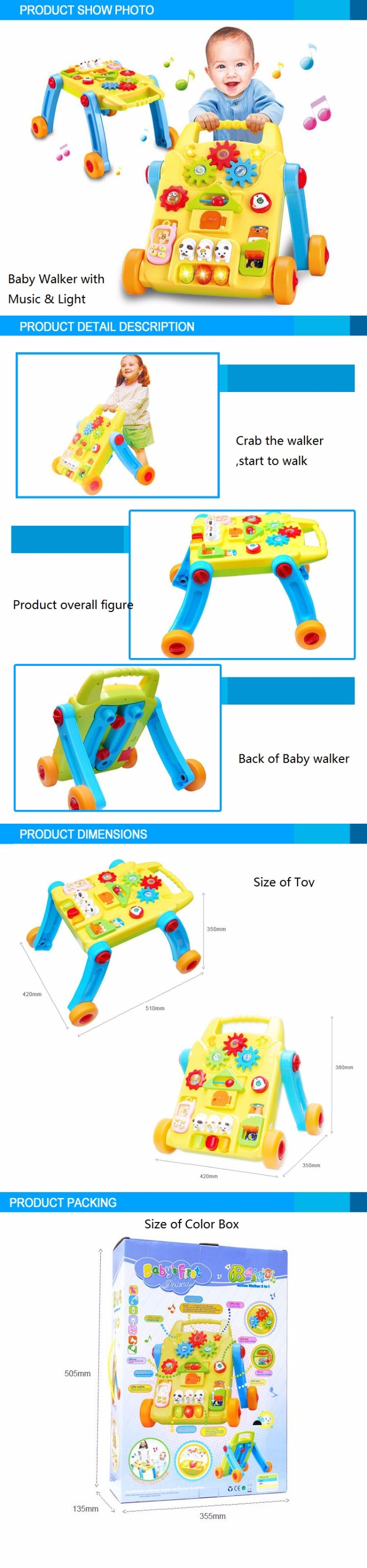 New style baby walker