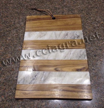 Marble wood cheese cutting board serving plate chopping block for kitchen buy vegetable - Marble chopping block ...