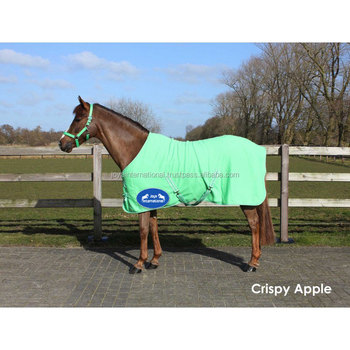New Deluxe Show Combo Fleece Cooler Full Neck Cover Travel Le Horse Rugs