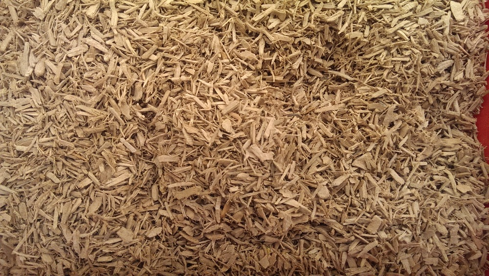 Cedar Wood Chips / Mulch de-oiled