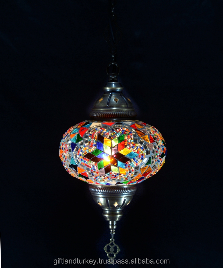 Glass Hanging Light Works Tiffany Style Victorian Stained Cut Glass Reverse Pendant Hanging Ceiling Lamp