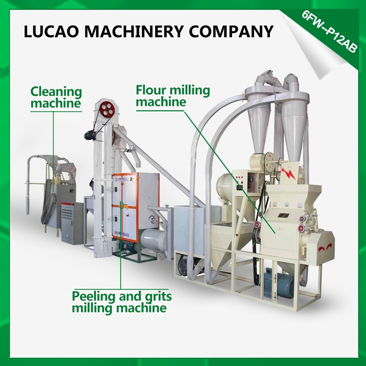 Low price industrial maize flour mill machinery