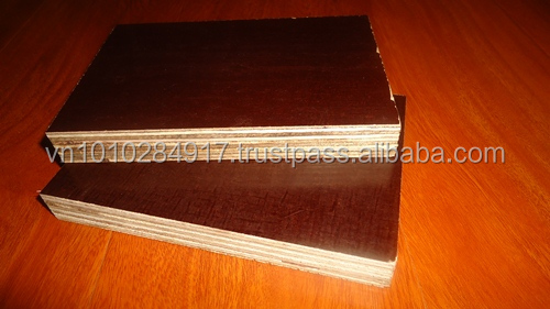 12mm/18mm Film face plywood BROWN FILM for CONCRETE FORM