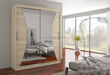 Wardrobe with sliding doors - European style, modern-looking - Charlotte