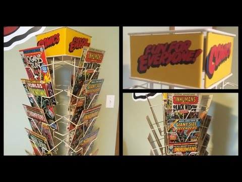Comic Book Spinner Rack - Magazine/News Display