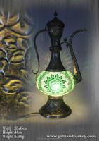 Vintage Solid Brass workmanship Tall lamp, Brass , antique