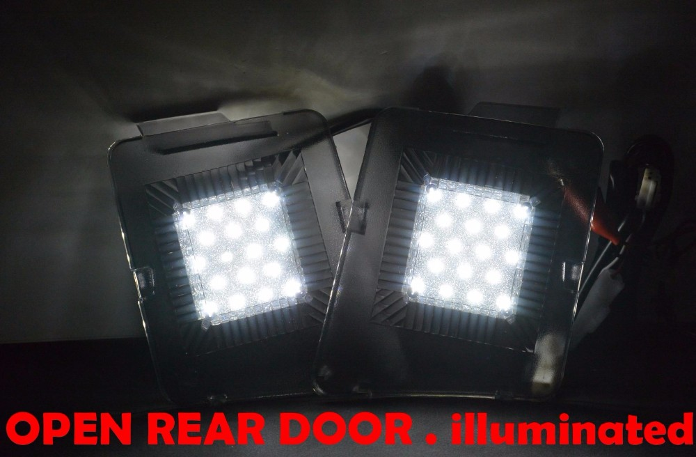 Automotive Special Fitting Car Boot Light Back Door Lamp For Mazda