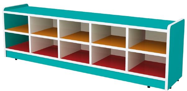 deux couche en bois de stockage de jouets la maternelle enfants chaussures de rangement cabi. Black Bedroom Furniture Sets. Home Design Ideas