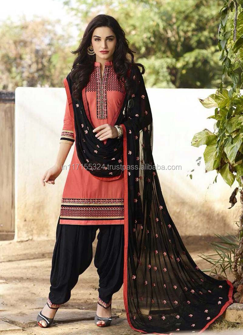 Punjabi Suit Design - Ladies Winter Suits Salwar Kameez - Latest ...