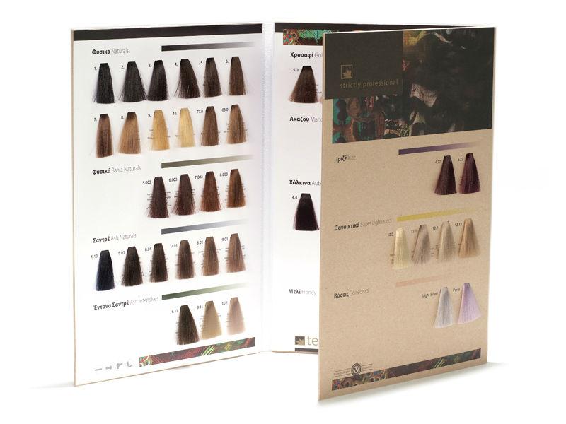 personalizable tintes de cabello natural color libro de muestras ...